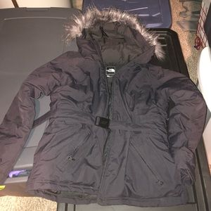 North face parka Greenland women's jacket size xl